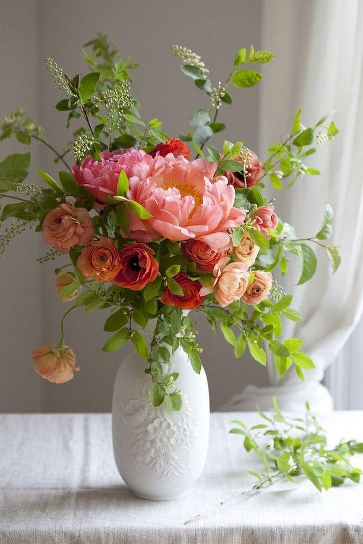 композиция цветов в вазе картинки система