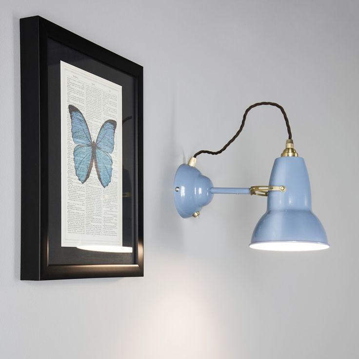 ORIGINAL 1227 BRASS - Applique orientable Bleu H15cm Anglepoise  €160