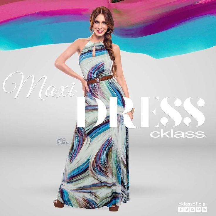 Por su ligereza y alegres estampados, los maxi vestidos #Cklass se convierten en tu mejor aliado durante los largos días de verano, haciéndote ver sensual y femenina.