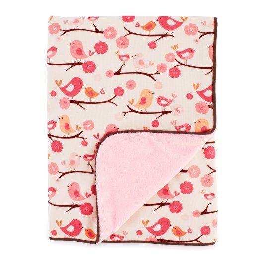 Skip Hop Springtime Birdie Nursery Blanket