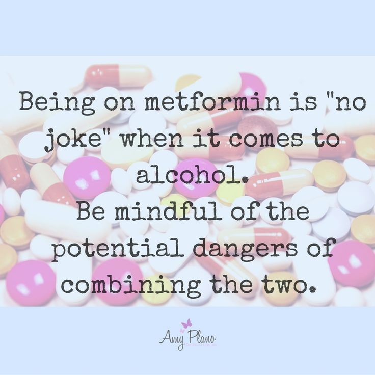 Being on metformin is no joke - be mindful of your meds when you have PCOS. Check out the most recent blog on alcohol and PCOS. The PCOS Dietitian: www.amyplano.com (scheduled via http://www.tailwindapp.com?utm_source=pinterest&utm_medium=twpin&utm_content=post107779815&utm_campaign=scheduler_attribution)