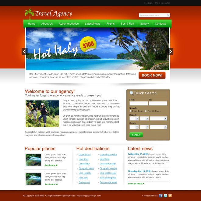 38 best Website Templates images on Pinterest Design websites - home based travel agent sample resume