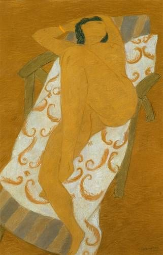 Nude - Pierre Boncompain, French b.1938-