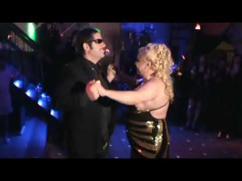 Latin Lover en la renovación de votos de matrimonio de Paola Braccio y P...