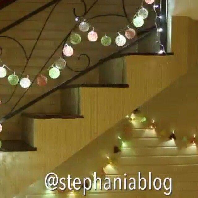 Mi amores, seguimos con las decoraciones navideñas. Por: @stephaniablog