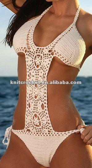 Sexy 100% ganchillo de la mano de bikinis, crochet traje de baño-Traje de baño & ropa de playa-Identificación del producto:535515213-spanish...