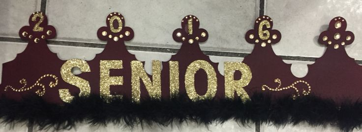 High school Senior crown