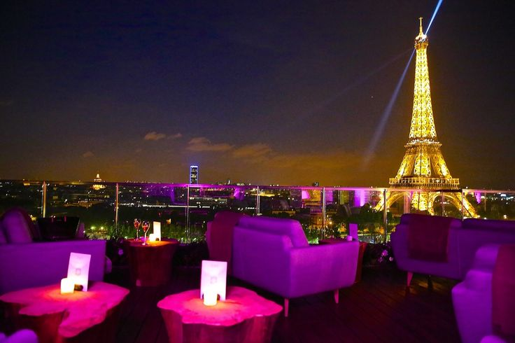 """Shangri La"" - Hotel Rooftop Bar, Paris - France"