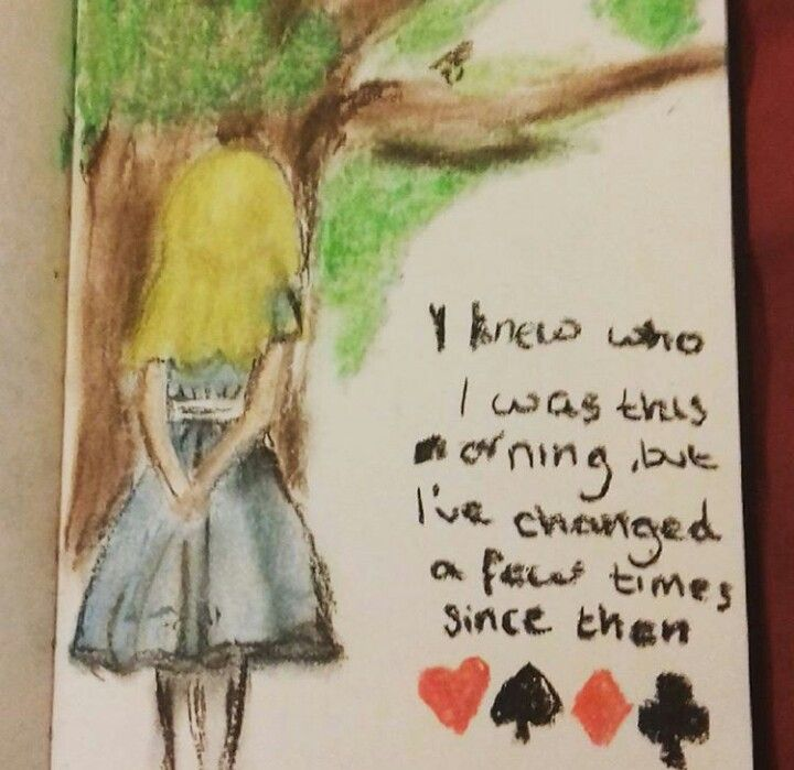 My obsession with Alice and wonderland is getting out of hand