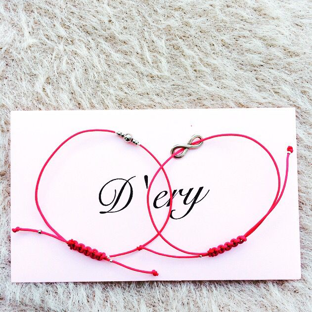 Rose bracelets with envelope 🎀