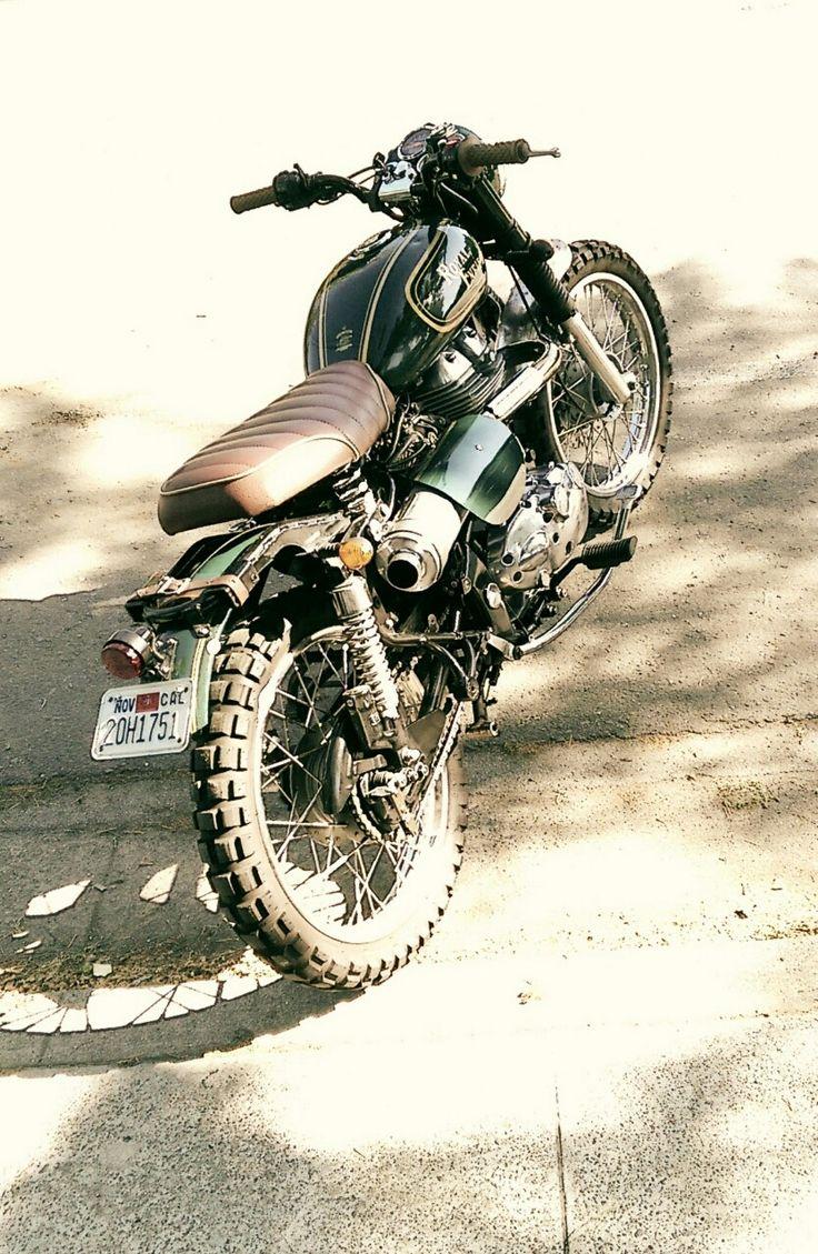 "motomood: ""motonoir: ""For sale: message for details. "" Royal Enfield scrambler """
