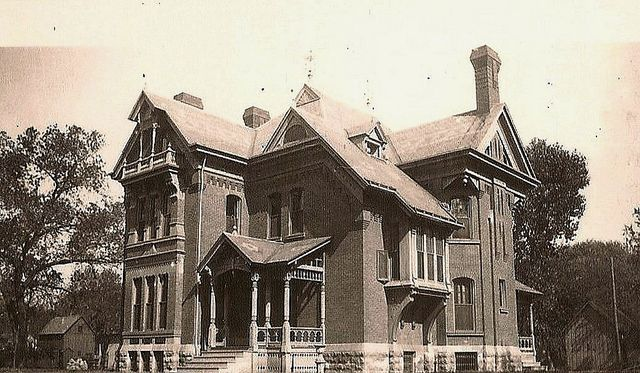 The Maurice W Levy Mansion At 204 North Topeka In Wichita Ks Was Designed And Built By William