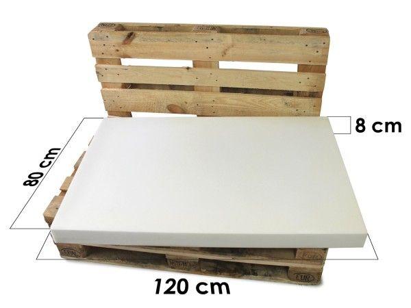 Mousse sur mesure pour coussin palette  http://www.homelisty.com/coussin-pour-palette/