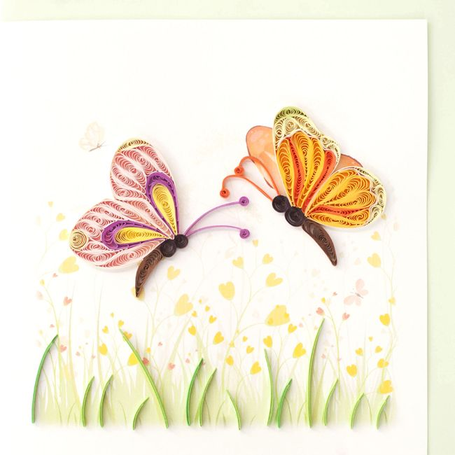 Quilled Butterflies-Product Image