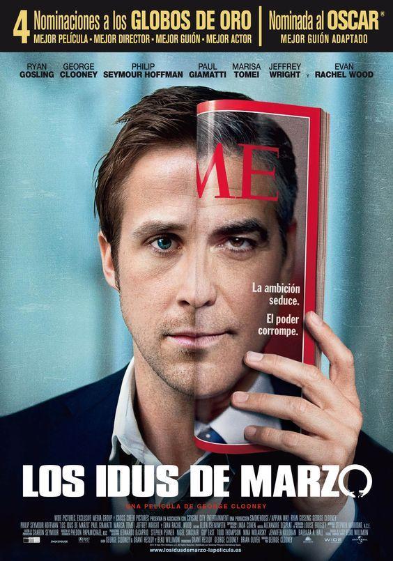 """Los idus de marzo (2011) """"The Ides of March"""" de George Clooney - tt1124035"""