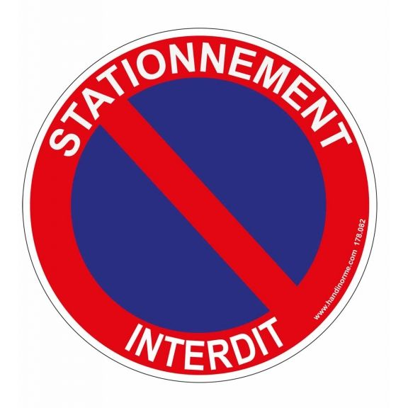 63 best panneau de signal tique images on pinterest sign - Panneau de stationnement interdit ...
