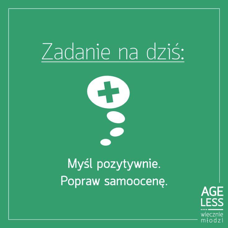 Trzymamy kciuki za to, że się Wam uda  Pozytywne nastawienie naprawdę działa! #ageless #wieczniemlodzi #samoocena #pozytywnemyslenie #zdrowie www.ageless.pl