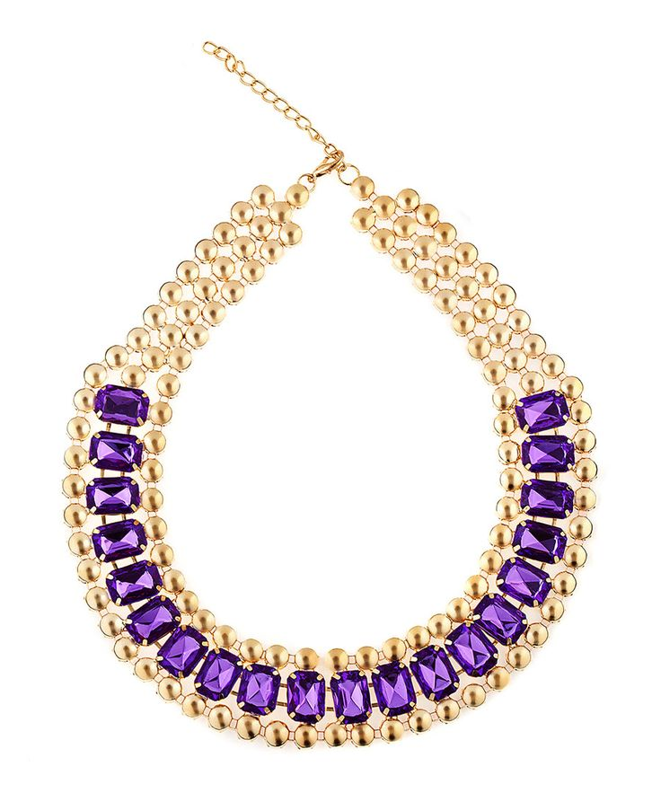 Find purple statement necklace at ShopStyle. Shop the latest collection of purple statement necklace from the most popular stores - all in one place.