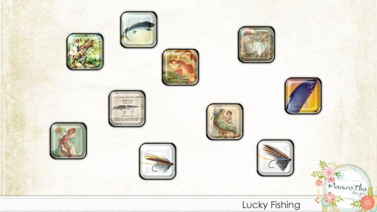 Lucky Fishing Brads