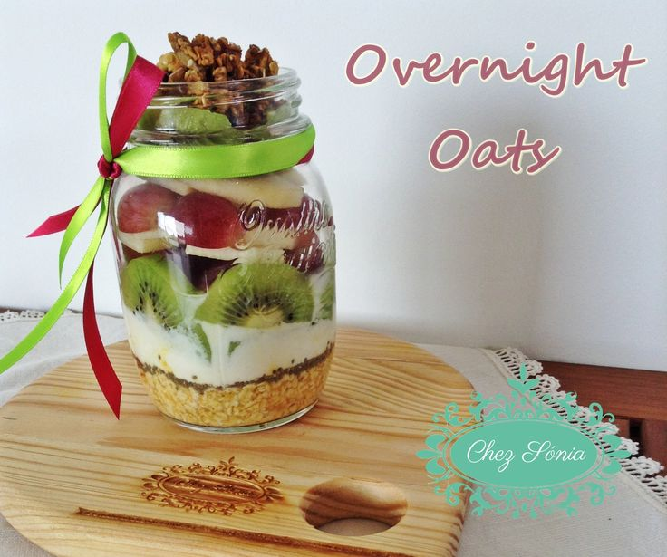 Overnights Oats super rápidos e saudáveis!