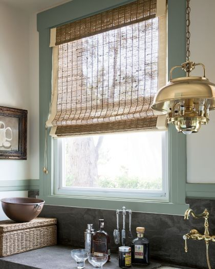 Smith noble natural woven roman shades windows for Smith and noble natural woven shades