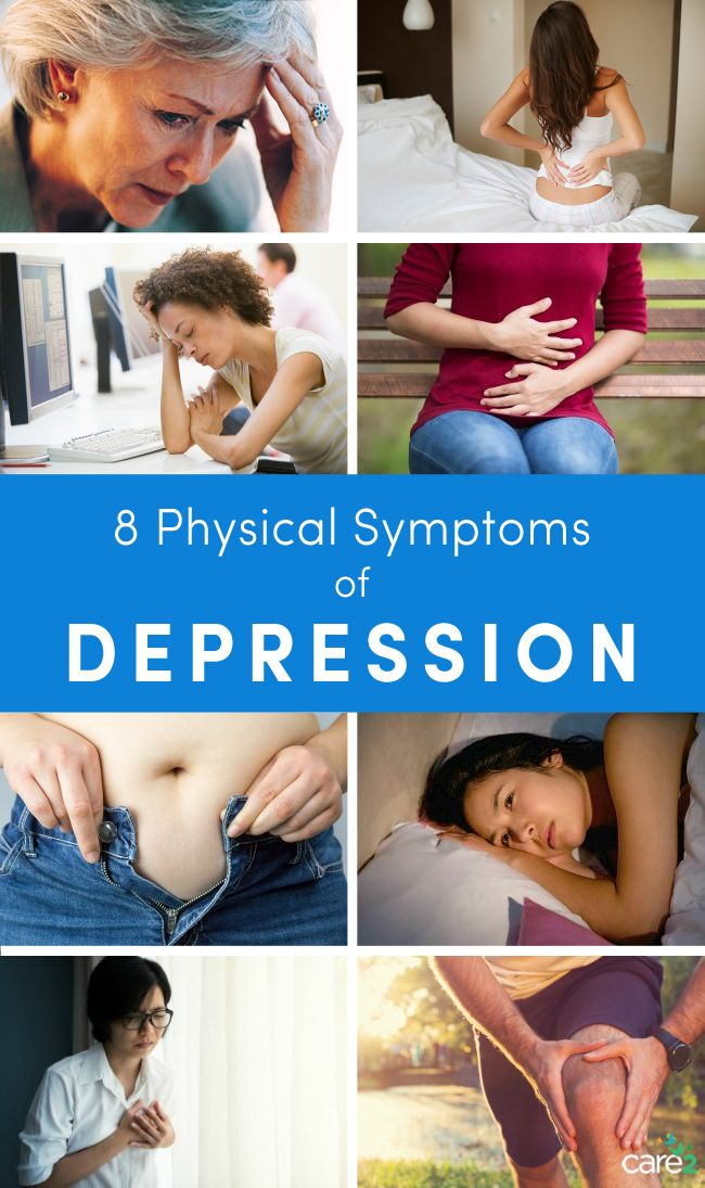 9 Physical Symptoms Of Depression   Care2 Healthy Living