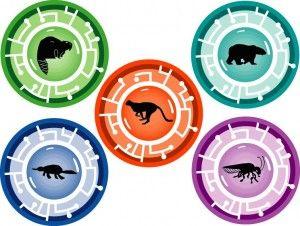 Wild Kratts Birthday Party Idea- power discs
