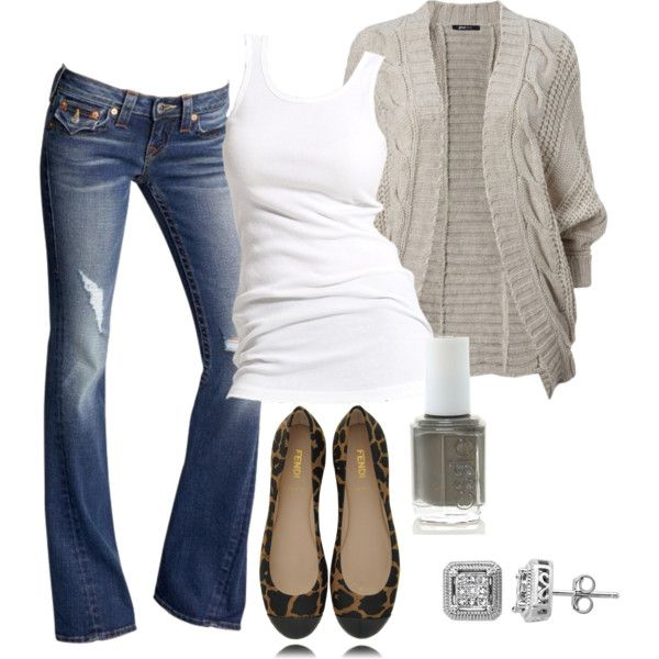 My fav!  Jeans and a white tee!