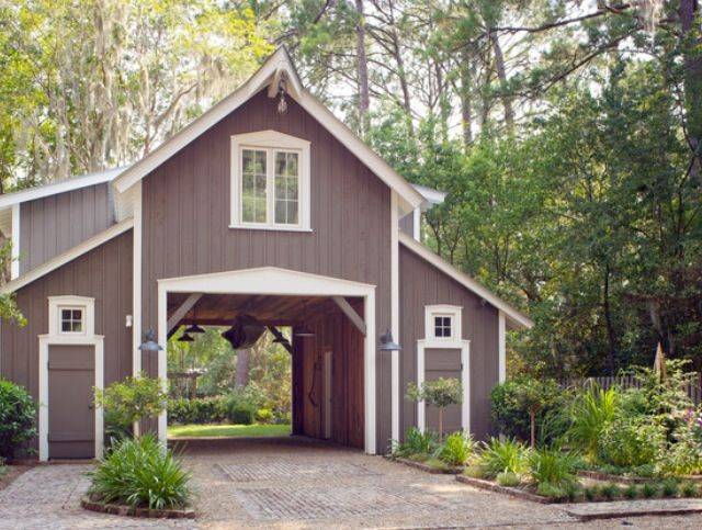 21 best images about garage on pinterest garage plans Barn guest house plans