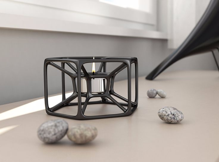 Candle holder | Shapeways plugin - a 3D model by VECTARY | VECTARY