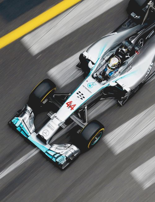 On Track w/Lewis Hamilton for the 2014 Monaco Formula One Grand Prix at Circuit de Monaco