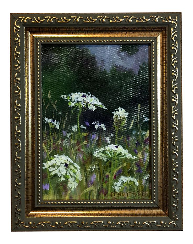Queens and Clover Oil Painting