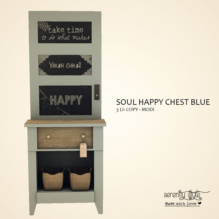 https://flic.kr/p/TxG7jS | Serenity Style- Soul Happy Chest Blue for 15CoOp | 15CoOp, a new discount monthly event starts next 15 on April  You can grab this item that will be available in the mainstore  only for 50L$ in this 1st round   All the info here 15CoOp