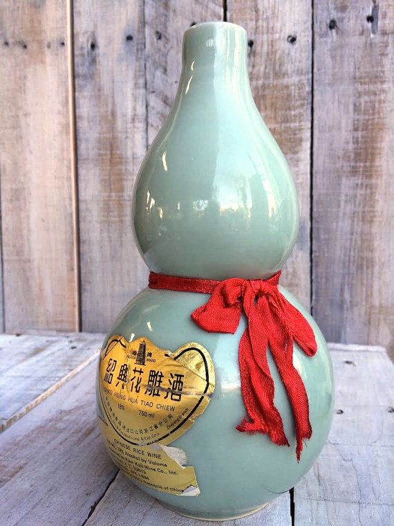 Rice Wine Decanter - Sake -  Seafoam Green Pitcher - asian decor - asian kitchen decanters - decorative bottle