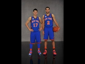 Securities Guards: Jeremy Lin and Landry Fields