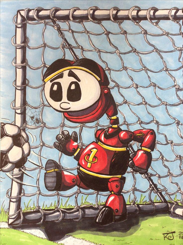 2016 illustration illustration in pen and markers by Kevin 'Doodleworx' Jones.