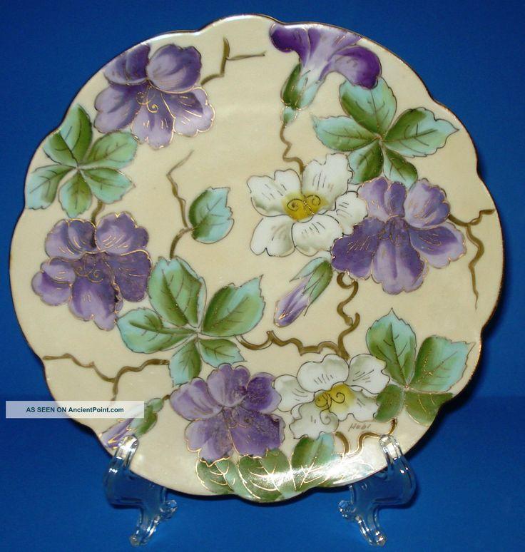 Antique Art Nouveau Porcelain Plate