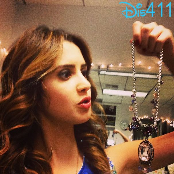 "Bad Hair Day Monica: Photo: Laura Marano Holding The Necklace From ""Bad Hair"