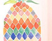 Sweet Pineapple! 11 in. x 15 in.