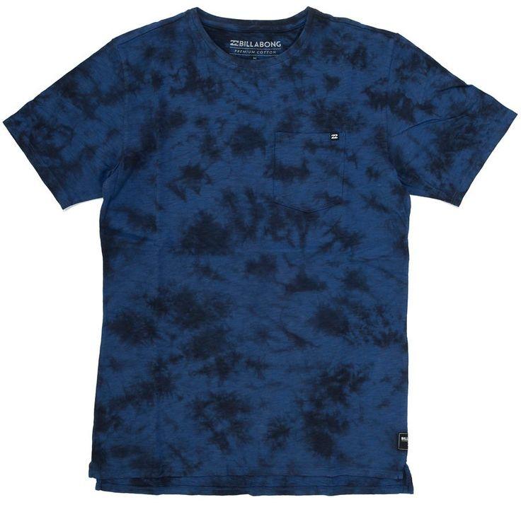 T-Shirt Billabong ZENITH TIE DYE Indigo