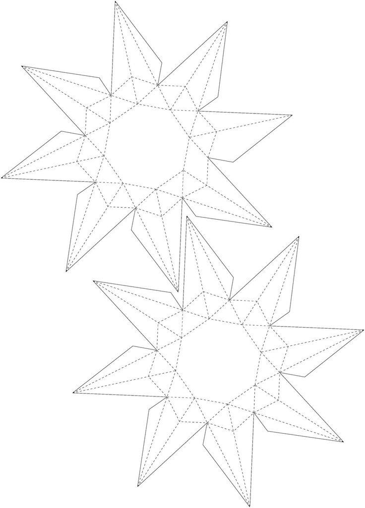 25  best ideas about paper diamond on pinterest