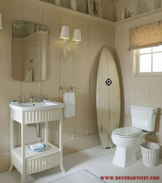 54 Best Images About Beach Theme Bathroom On Pinterest Nautical Bathrooms Rope Mirror And