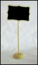 6 x Mini Chalkboard Label Stands - Wedding / Party / Lolly Buffet / Lolly Table