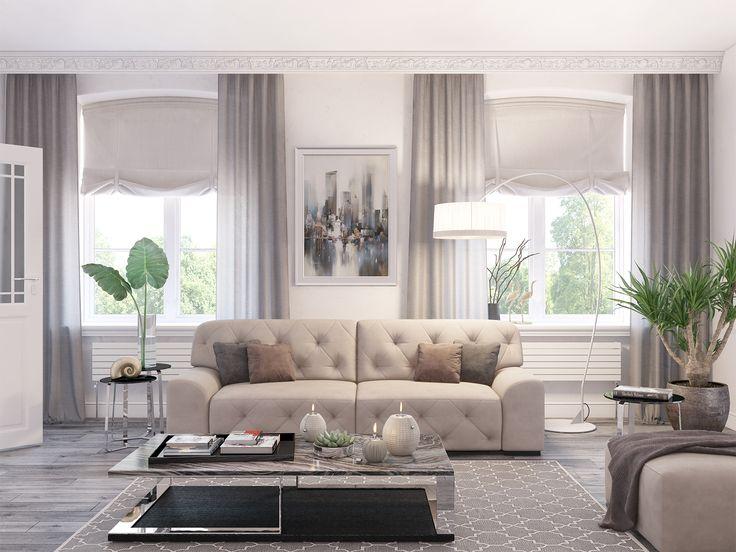 Пастельные цвета в дизайне квартиры