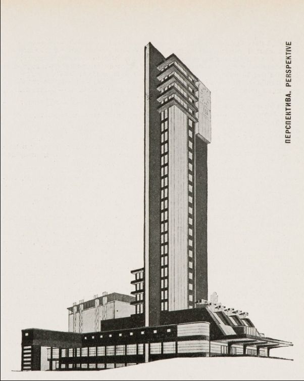 """rosswolfe: """" Proposal for a bread factory, SA no 1 (1928). Perspective view. """""""