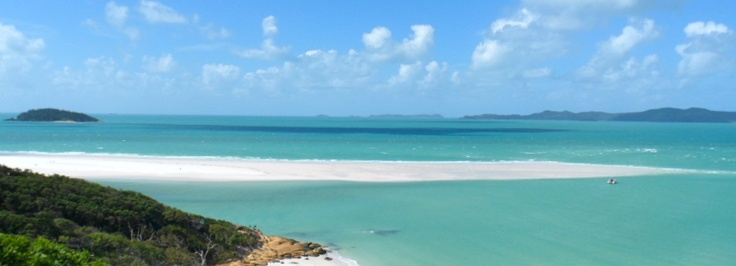 Whitehaven Beach, Whitesunday Islands, Australia. rated 3rd best beach in the world