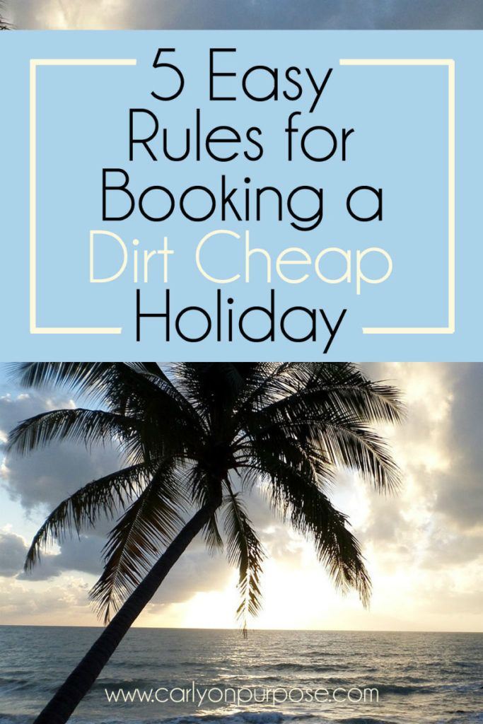 Book a cheap holiday - these are the BEST budget holiday tips I have ever seen