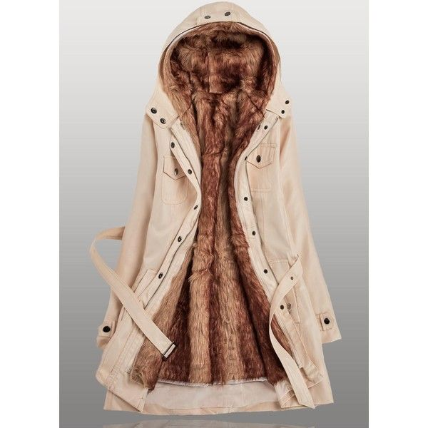 25 best ideas about fur lined coat on pinterest faux. Black Bedroom Furniture Sets. Home Design Ideas