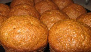 Muffins aux carottes et à l'érable