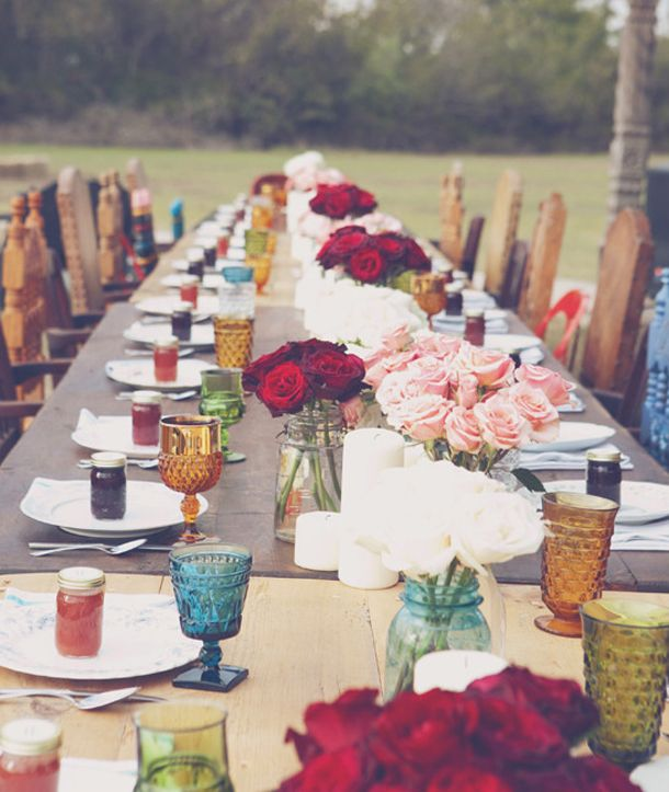How to Style a Boho Wedding Tablescape I | SouthBound Bride